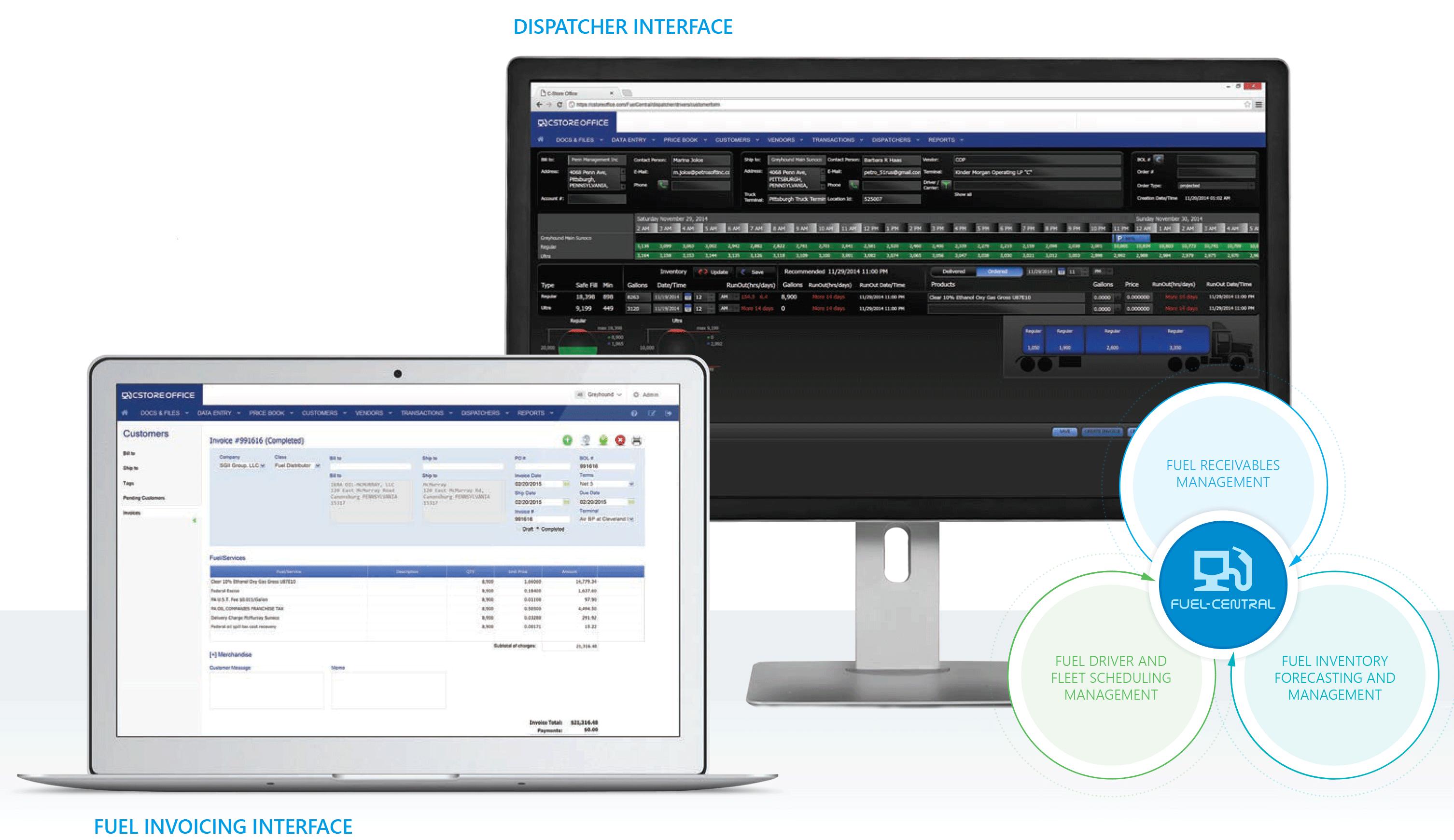 Fuel Central Fuel Distribution Software Petrosoft